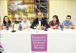 Constitución Federación Leonesa de Entidades Locales Menores
